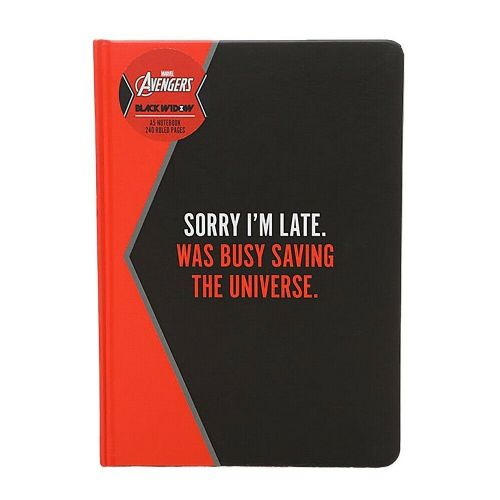 Marvel Comics Black Widow A5 Notebook Note Pad